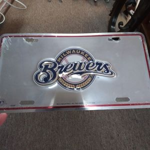 Milwaukee Brewers License Plate